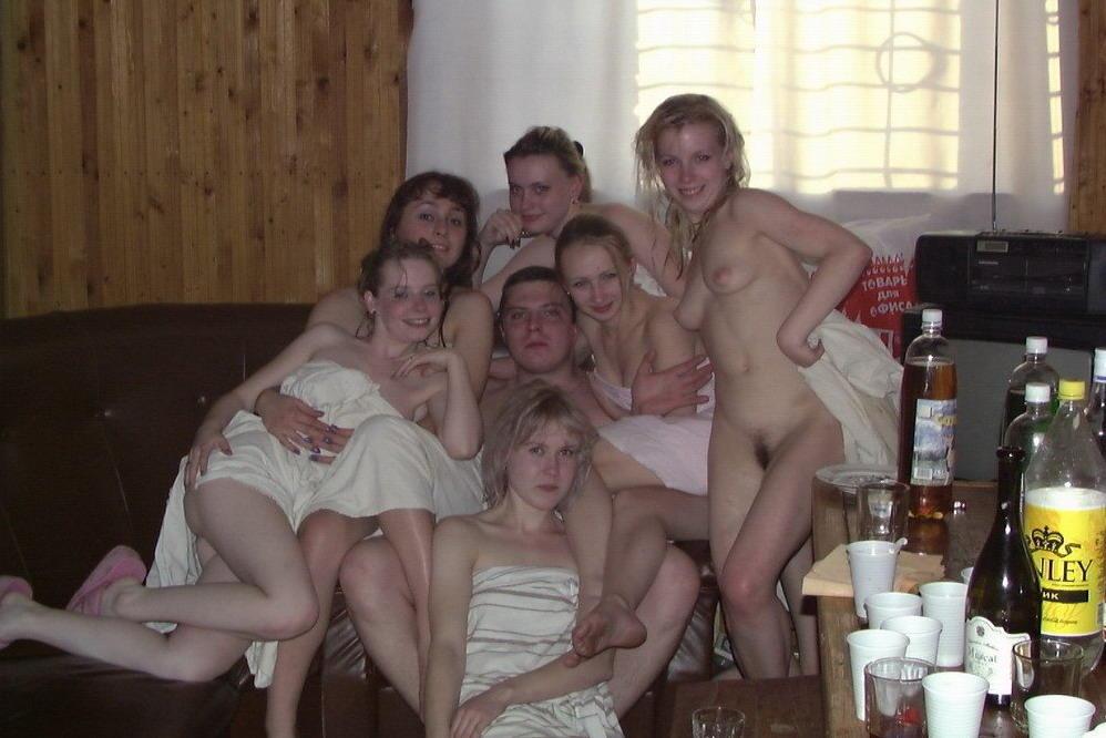 Секс со студентами в бане 6 фотография